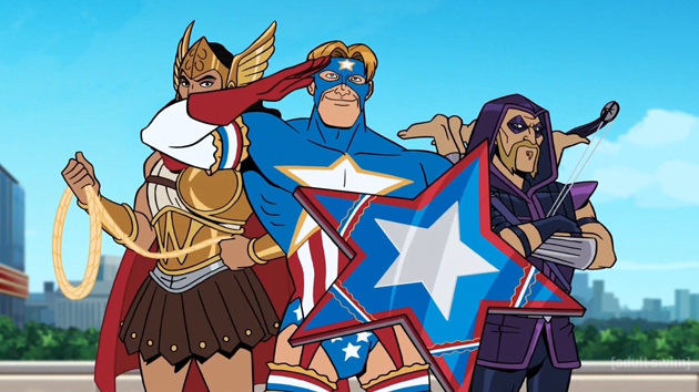 Pretty much The Avengers