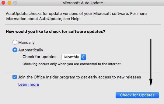 ממליץ להגיד לתוכנה לחפש כל חודש עדכונים