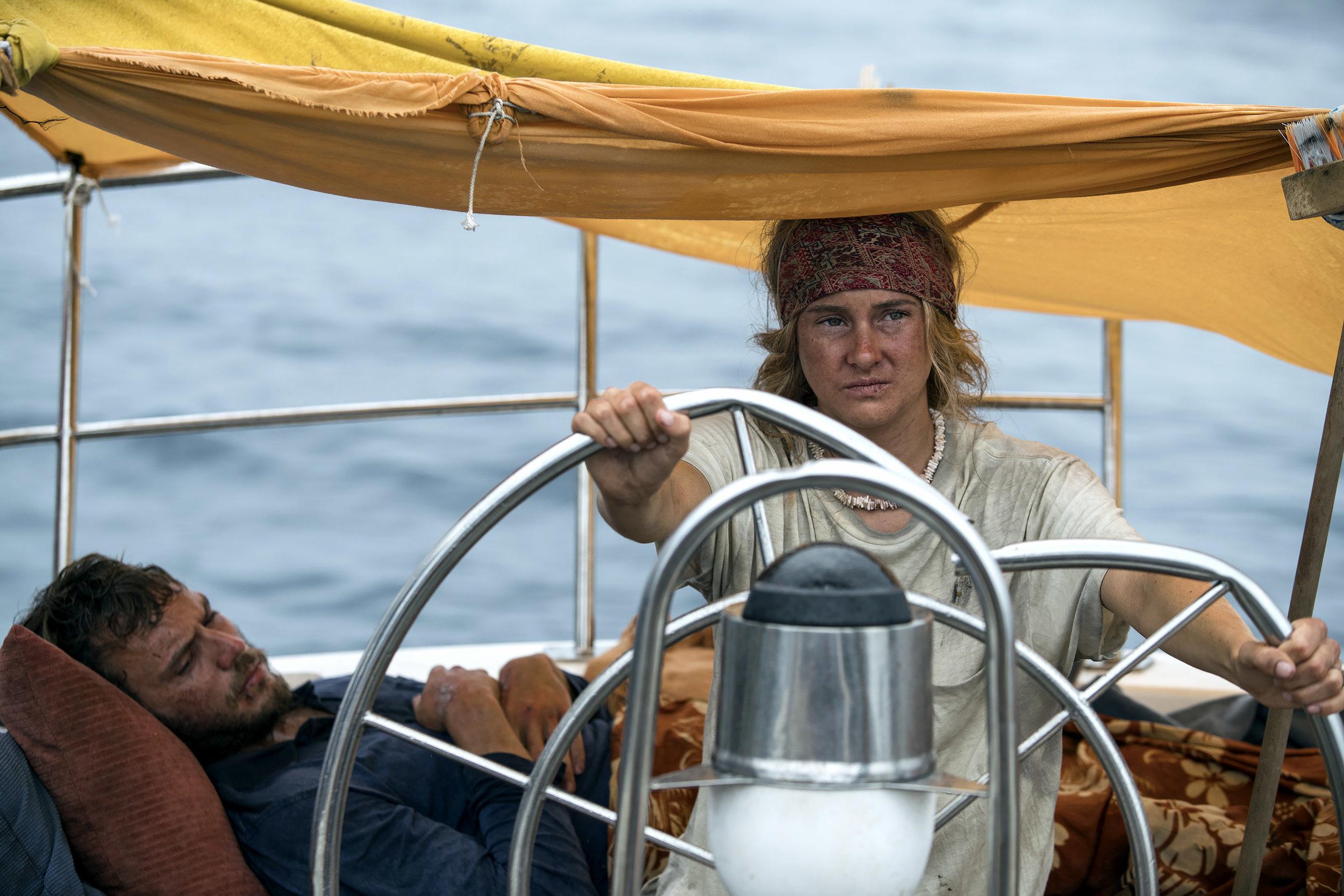 Sam Claflin and Shailene Woodley star in ADRIFTCourtesy of STXfilms