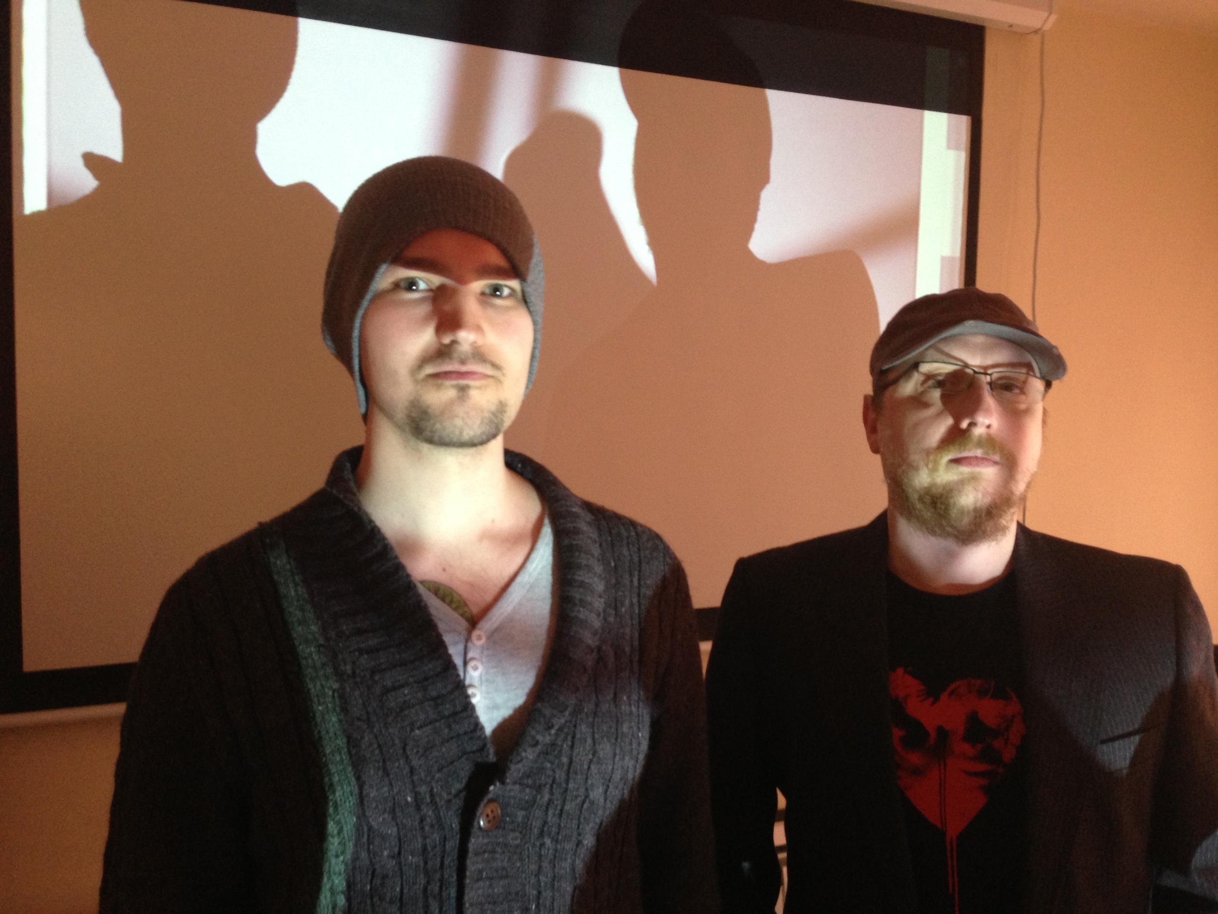 Matt Green & Stuart Tonks, creators of It's Alive!