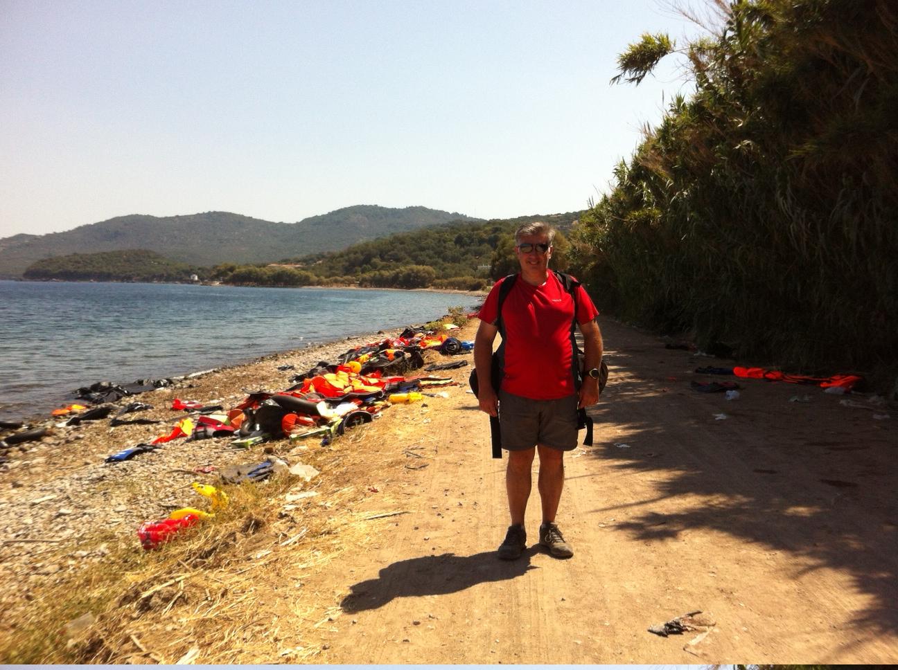 An economic migrant on the coast road - me!