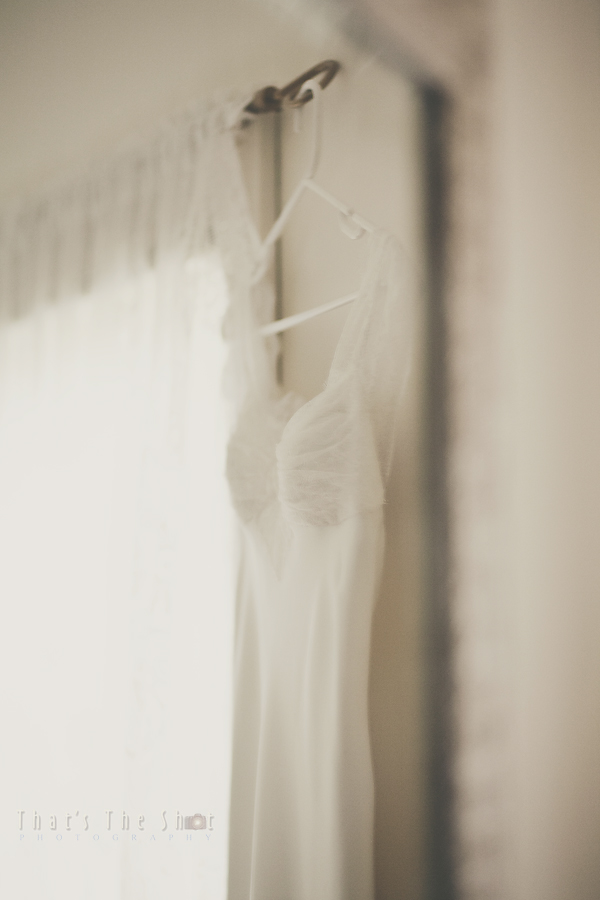 Wedding dress photographed by Melbourne Wedding Photographer