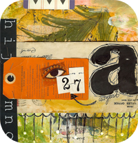 Hidden Places Art Journal Page