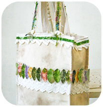 Altered Tote Bag