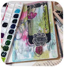 Goals Art Journal Page (DLP)