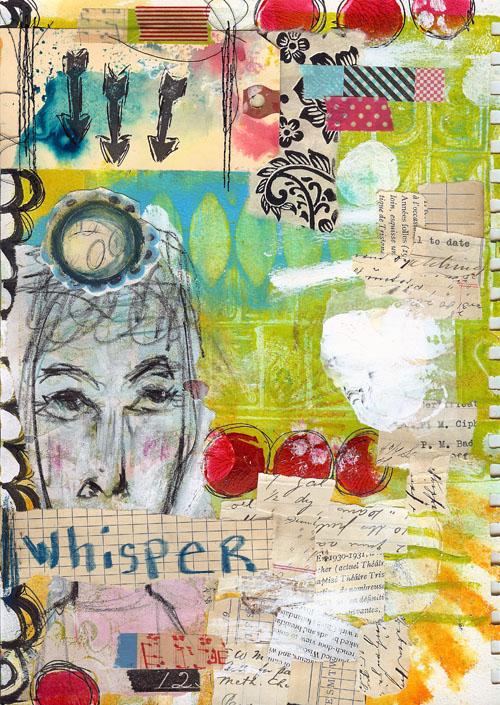 Art Journal Love Whisper Roben Marie Smith The
