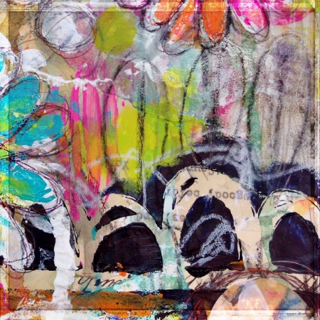 art journaling with Roben-Marie Smith
