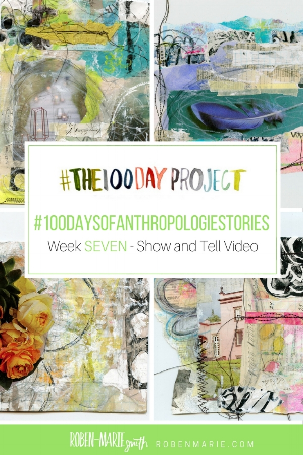 @robenmarie #the100dayproject and #100daysofanthropologiestories where I will take something from an Anthropologie catalog, create a mixed media piece around it and write a little story to go with it.@anthropologieFollow @robenmarie on Instagram for art and stories each day.