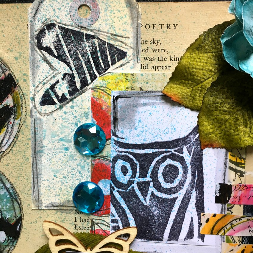 Design Team member Jenni Zmuda shares her beautiful mixed media canvas with us for her project. Be inspired as she uses stamps from Paperbag Studios and Art Pops™ to create this gorgeous piece of Art! @robenmarie @art_girl_78 #robenmarie #robenmariedesignteam #paperbagstudios #artpops #mixedmedia #diy