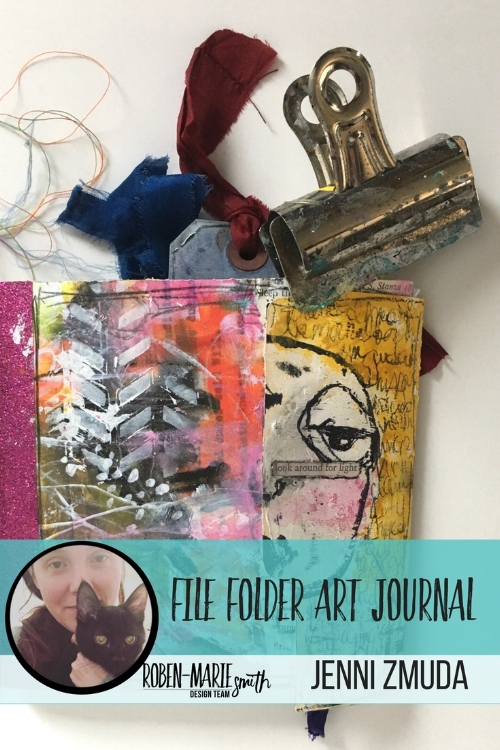Design Team member Jenni Zmuda is sharing with us how she made her her quirky file folder art journal. Follow along with her video tutorial as she creates this beautiful and unique art journal. She uses Art Pops™ and Paperbag Studios Stamps to create this gorgeous journal! @robenmarie @jennizmuda #robenmarie #robenmariedesignteam #paperbagstudios #artpops #mixedmedia #diy