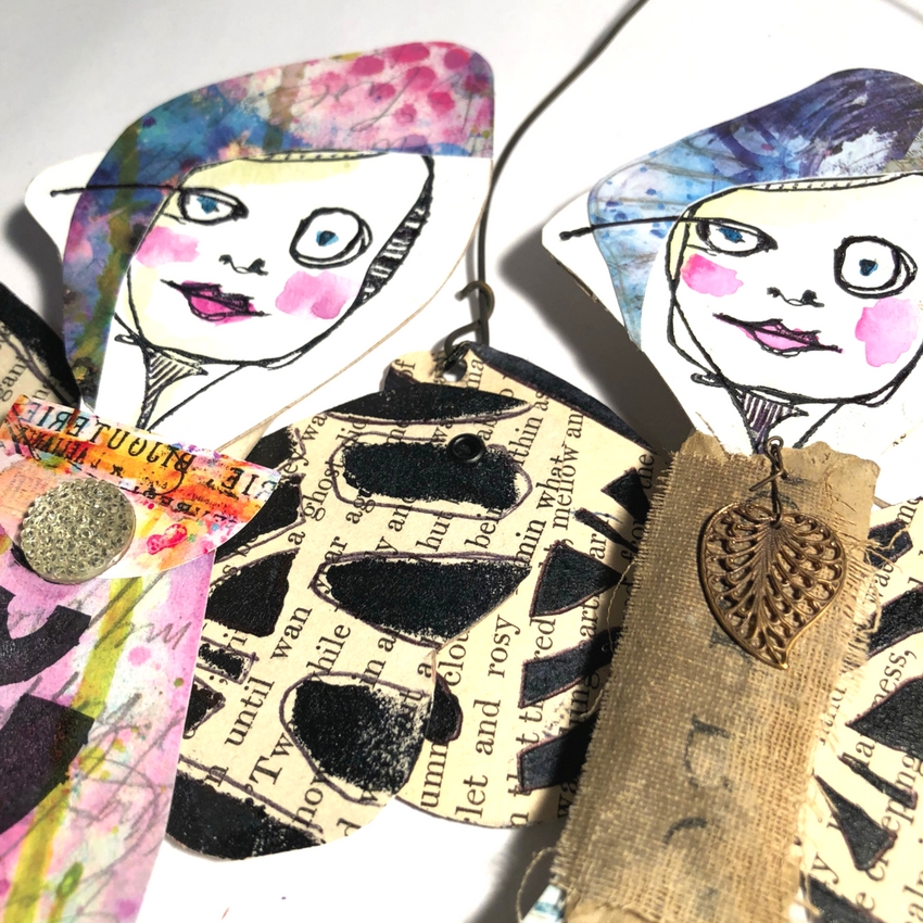 Check out this video tutorial as Design Team member Kristin Petersen takes you step by step through creating these funky altered paintbrush art dolls. She uses Art Pops™ and Paperbag Studios Stamps. @robenmarie @ebodygirle #robenmarie #robenmariedesignteam #paperbagstudios #artpops #mixedmedia #diy #artjournal #artjournaling