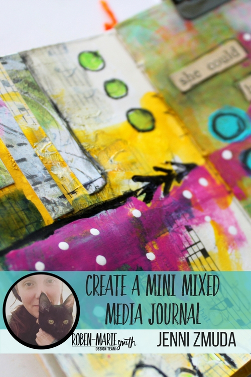 Check out this video tutorial as Design Team member Jenni Zmuda creates this gorgeous mini mixed media journal as her project. Jenni takes you step by step through creating this mini journal which is perfect for on the go creating. She uses Art Pops™ and Paperbag Studios Stamps. @robenmarie @ArtGirlCreations78 #robenmarie #robenmariedesignteam #paperbagstudios #artpops #mixedmedia #diy