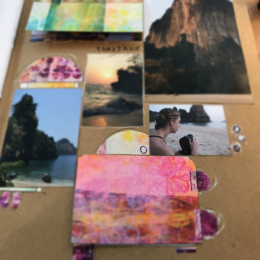 Check out this video tutorial as Design Team member Sue Kemnitz  creates this artistic photo collage as her project. Sue takes you step-by-step through creating this creative hide and seek collage to showcase your photos. She uses Art Pops™ and Paperbag Studios Stamps. @robenmarie @suekemnitzart #robenmarie #robenmariedesignteam #paperbagstudios #artpops #mixedmedia #diy