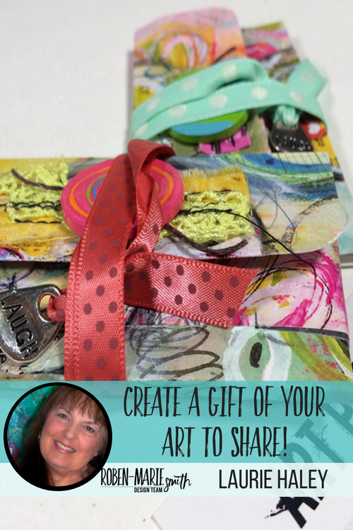 Check out this video tutorial as Design Team member Laurie Hayley creates these altered business cards. Lauri takes you step-by-step through creating these little cards which are perfect for setting your art free in the world! She uses Art Pops™ and Paperbag Studios Stamps. @robenmarie @laurierichardsonhaley #robenmarie #robenmariedesignteam #paperbagstudios #artpops #mixedmedia #diy