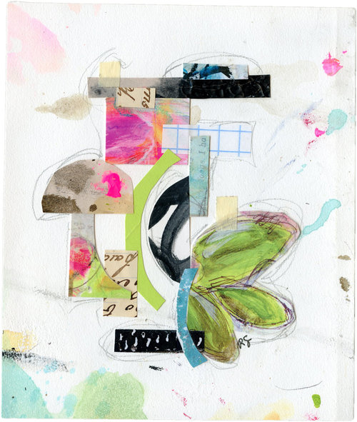 Lauggent Abstract Collage