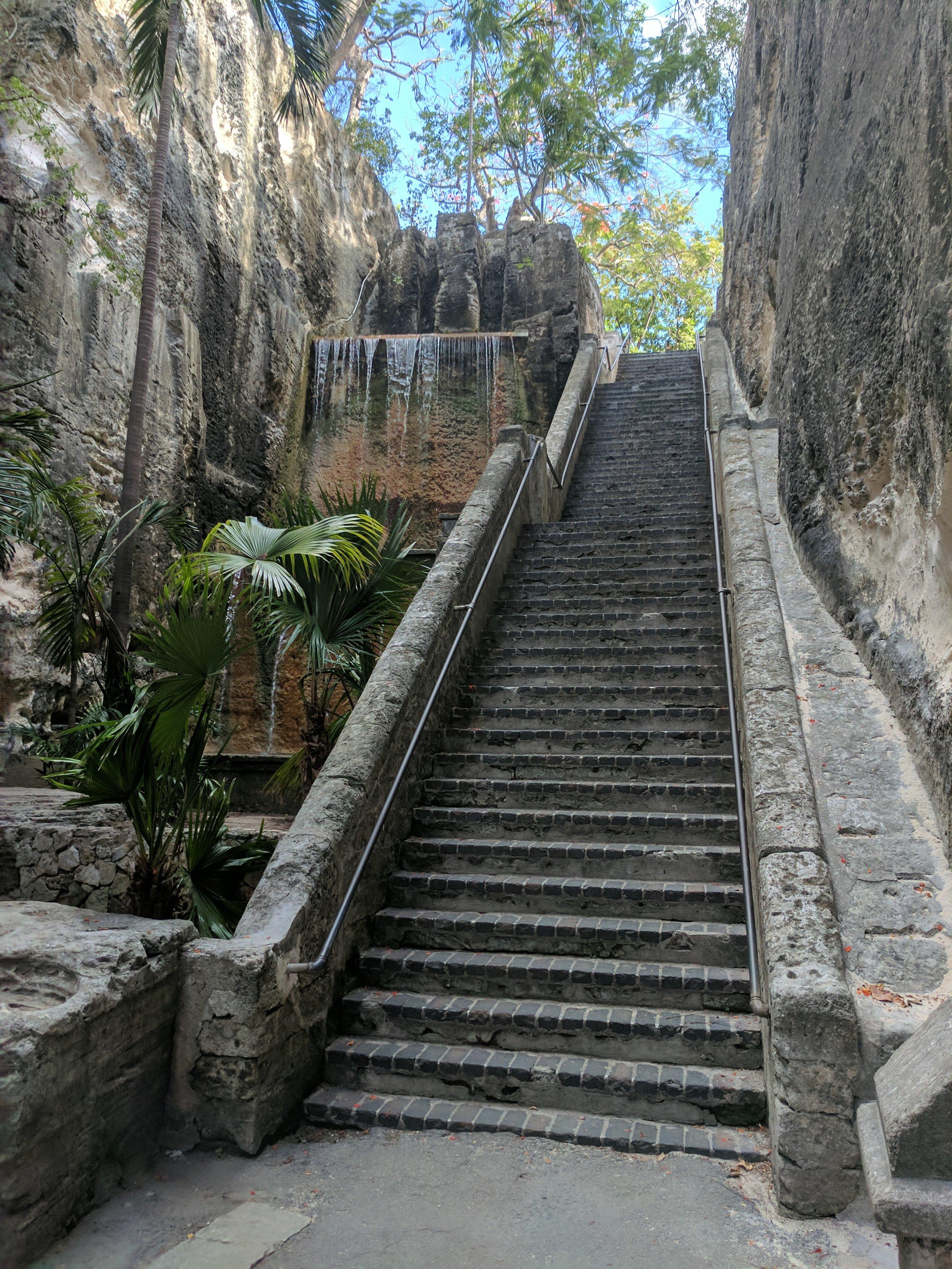 The Queen's Staircase Nassau Bahamas