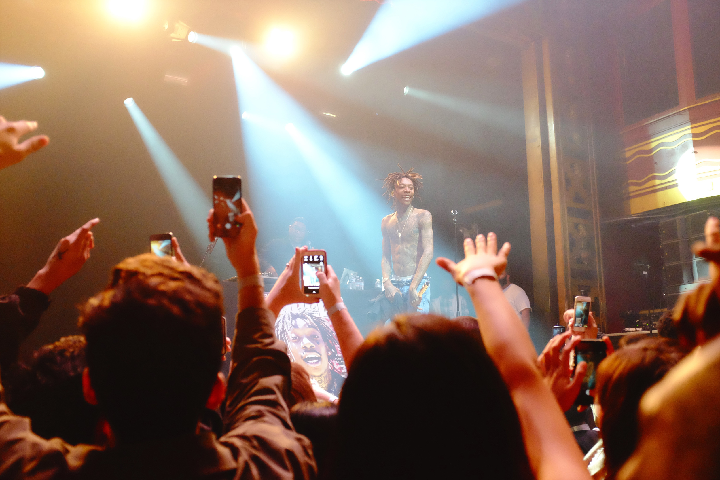 Wiz Khalifa performs at New York City's Webster Hall - October, 2014