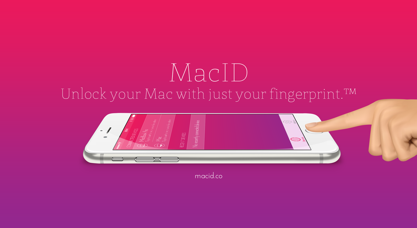 MacID unlock's your Mac using your fingerprint via a connected iOS device