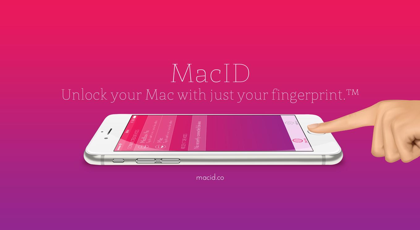 MacID unlock's your Mac using your fingerprint via a connected iOS device