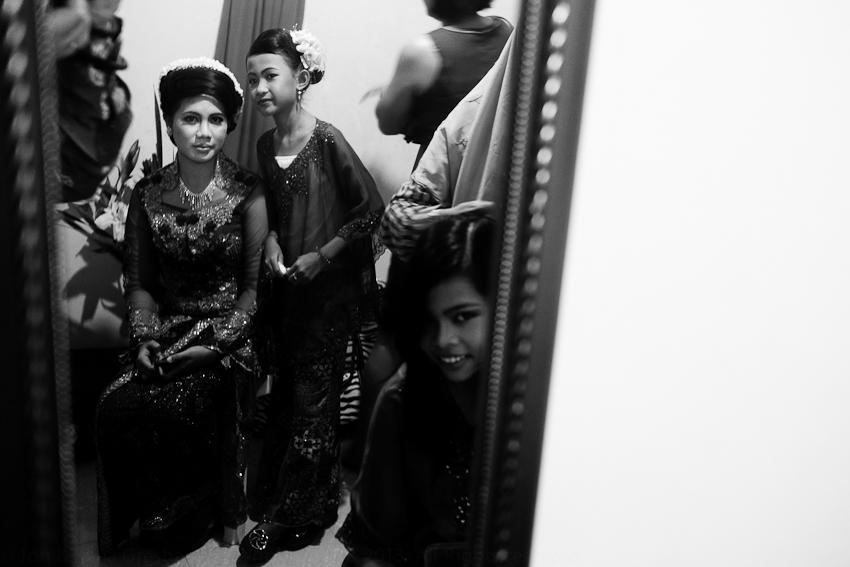 Leni, Nadia & Larus, Leni's Wedding, February 2013
