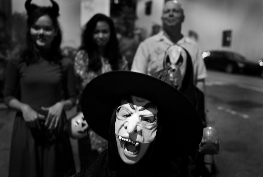 Halloween, Blair Rd, Oct 2013