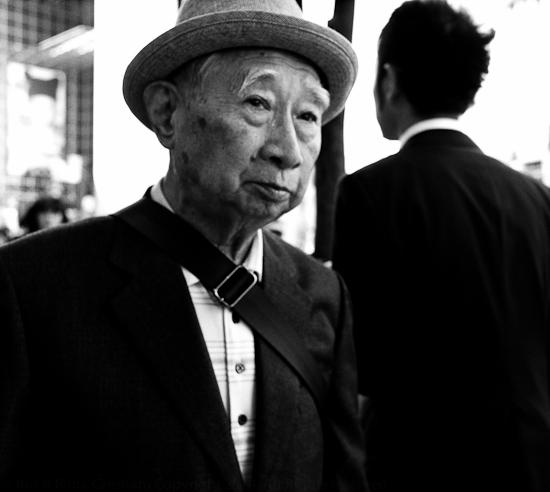Old Man, Shinjuku, Tokyo
