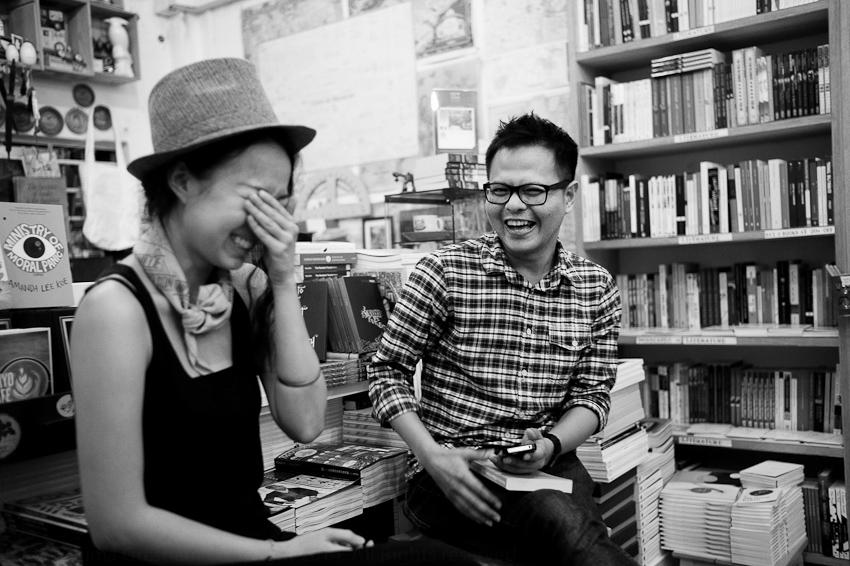 Amanda Lee Koe & Alfian Sa'at