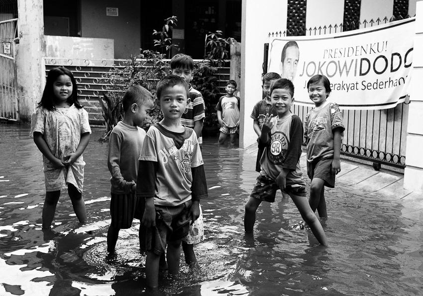 Children, Lenteng Agung, July 2014