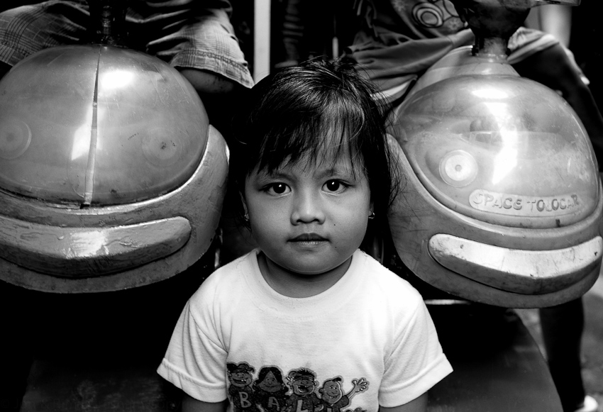 The granddaughter of Pak Agus, Jakarta Selatan, April 2014