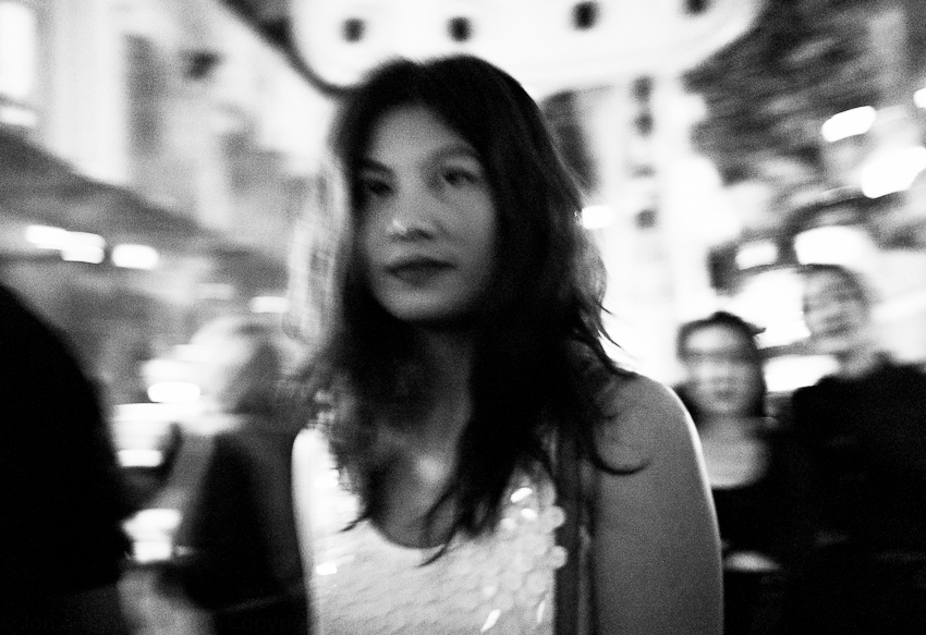 Lady Wandering Around, Clarke Quay, Singapore, November 2014