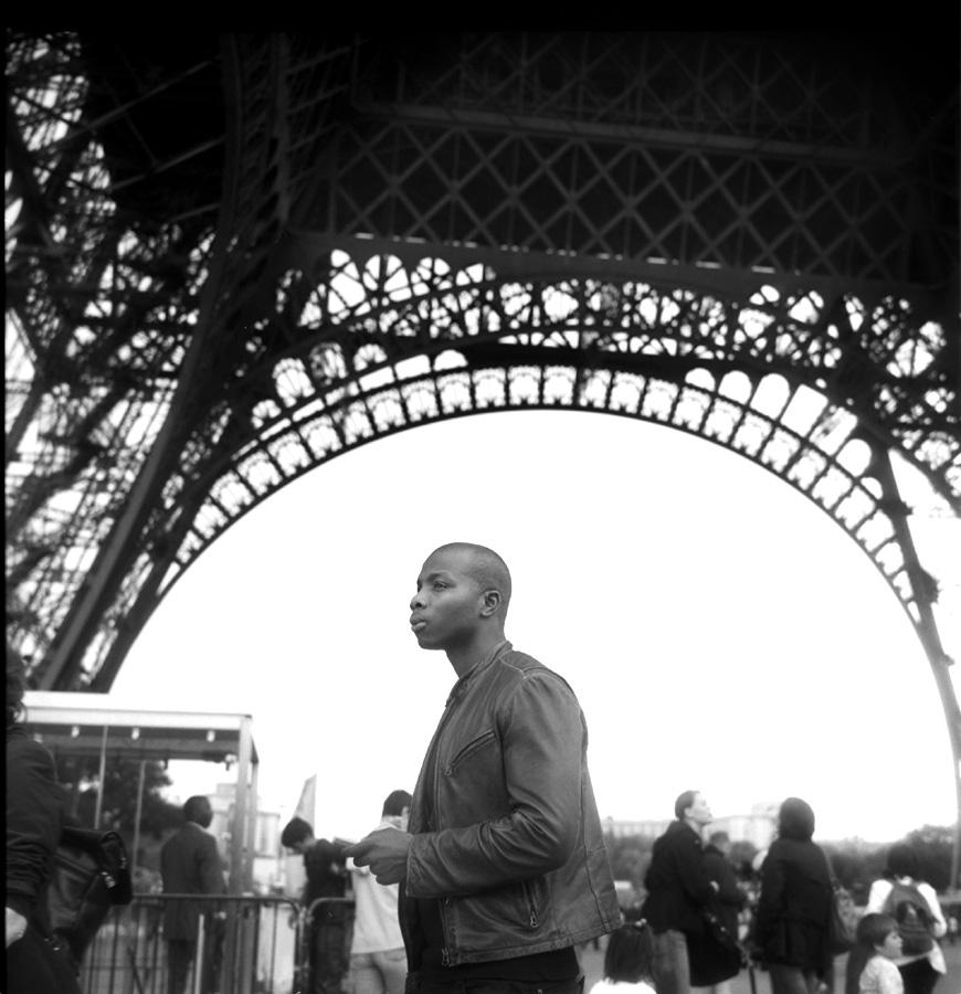 French Man, Eiffel Tower, August 2008