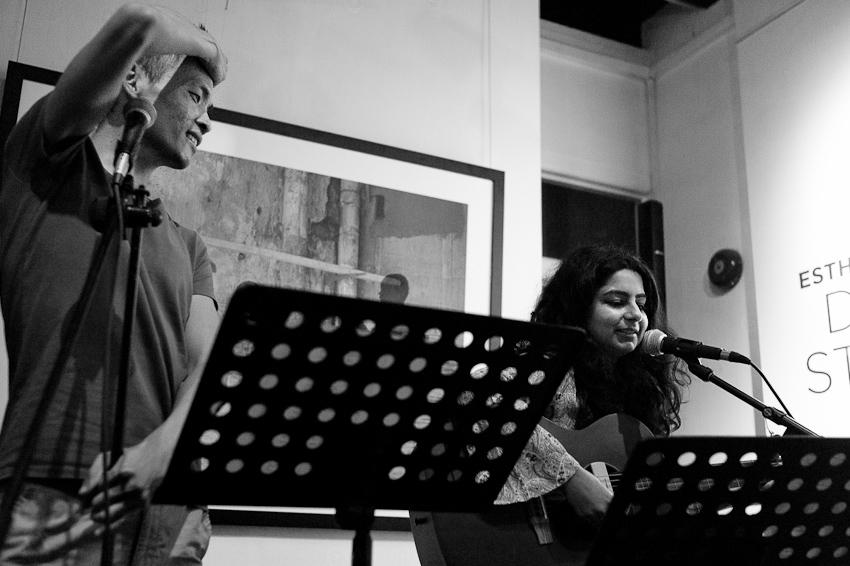 Cyril Wong & Pooja Nansi