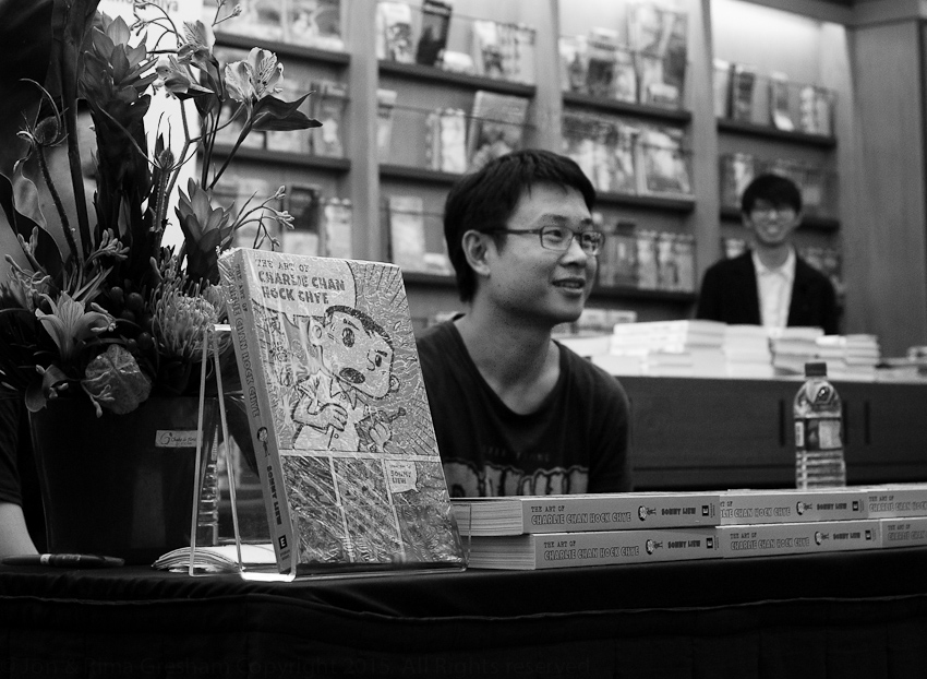 Sonny Liew & The Art of Charlie Chan Hock Chye