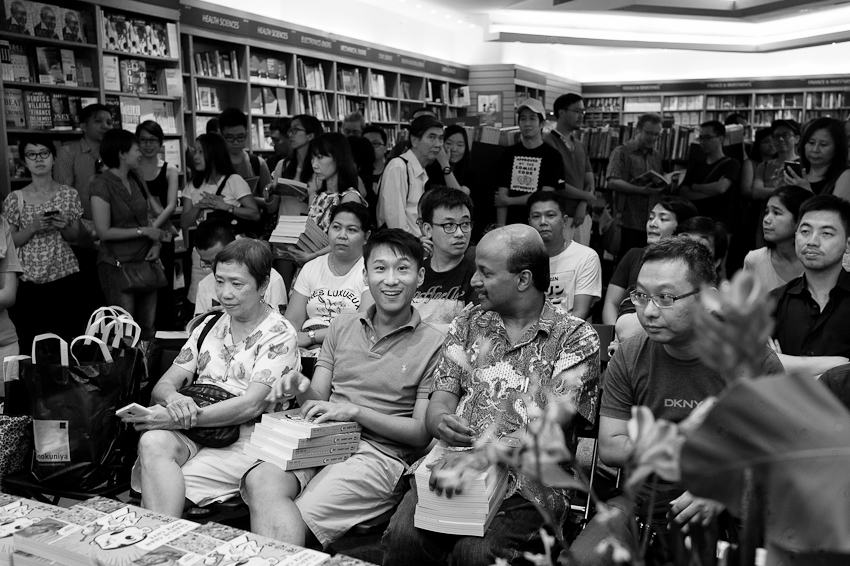 Launch of Sony Liew's The Art of Charlie Chan Hock Chye at Kinokuniya