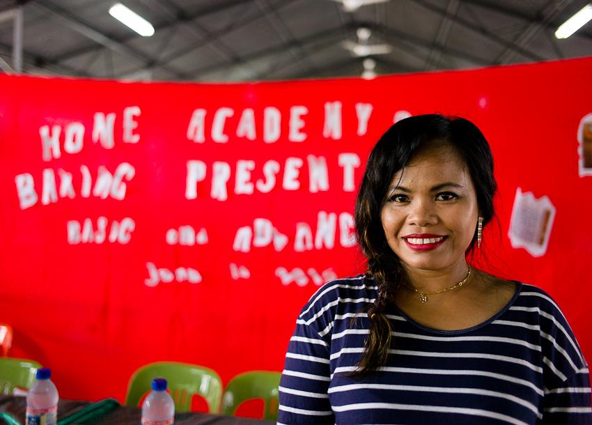 Janet Bullecer, teacher at Advanced Baking HOME Academy