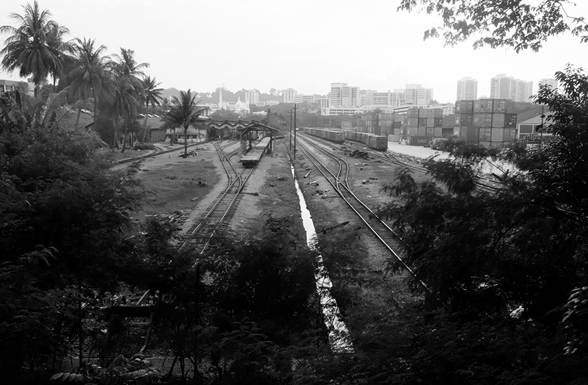 Marshalling yards, Tanjong Pagar in 'A Fleeting Tenderness at the End of Night'