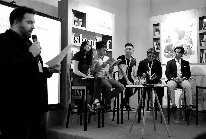 Lontar Launch with Jason Erik Lundberg, Christina Sng, Daryl WJ Lim, Jerrold Yam, Desmond Kon