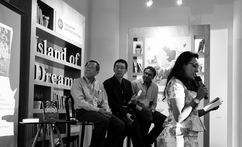 Annaliza Bakri reads Mohamed Latiff Mohamed