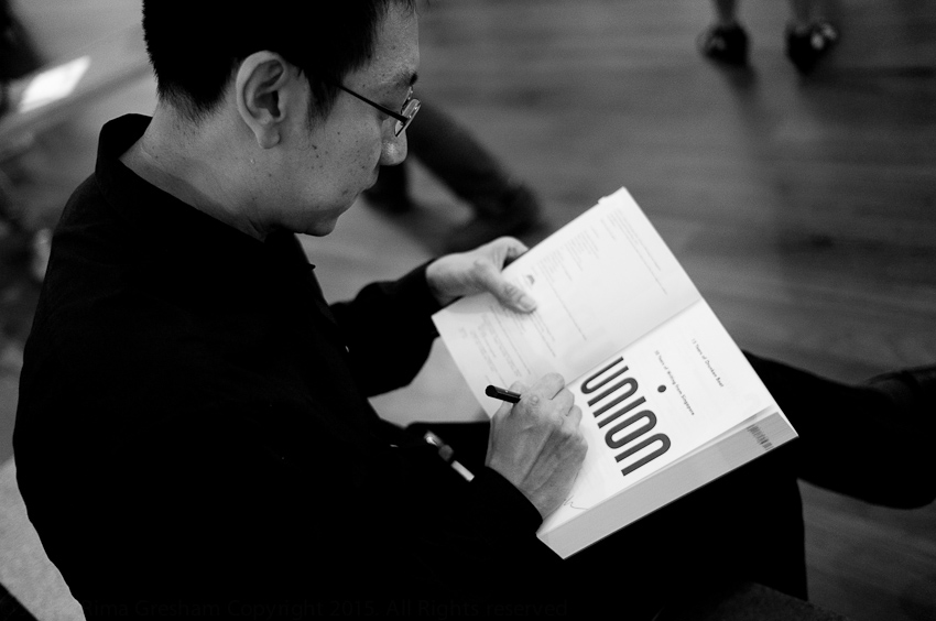 Alvin Pang, co-editor of Union