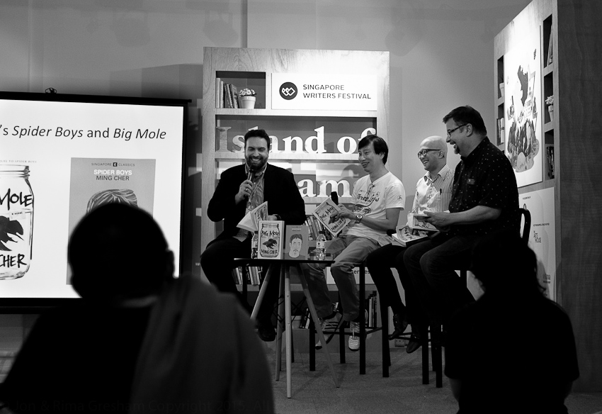 Jason Eric Lundberg, Gwee Li Sui, Laremy Lee & Richard Angus Whitehead discuss Big Mole