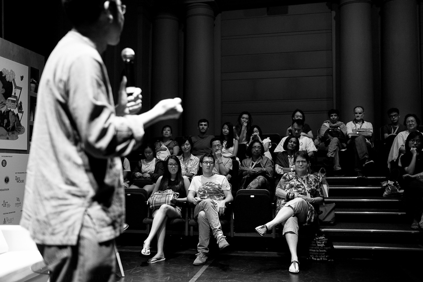 Among Us: Migrant Poets moderated by Alvin Pang