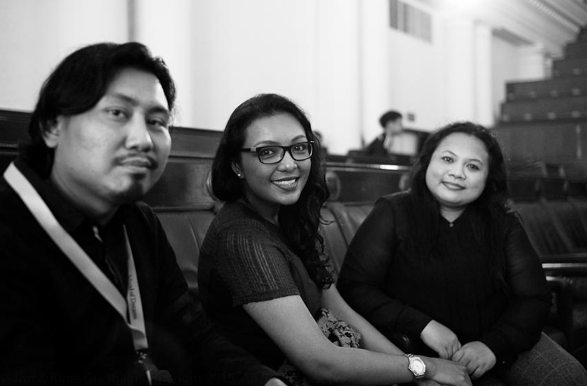 Faizal Tehrani, Annaliza Bakri & Emelda Jumari
