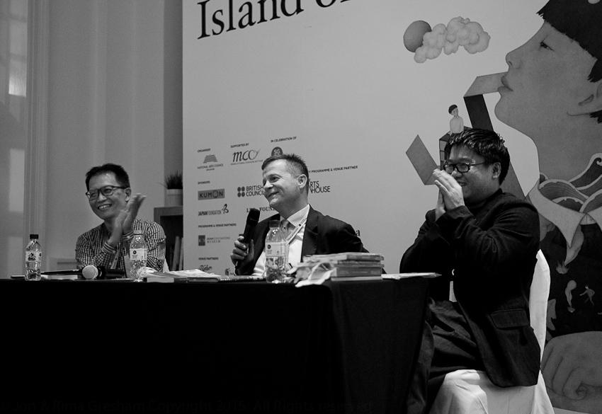 Yeow Kai Chai, Christian Bok & Desmond Kon