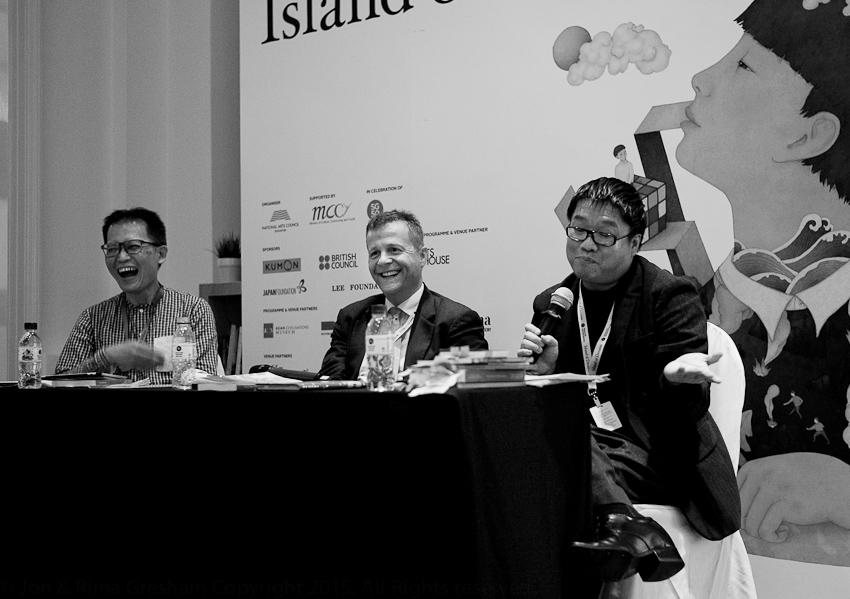 Yeow Kai Chai, Christian Bok & Desmond Kon on their 'weird' writing