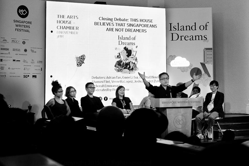 Closing Debate with Adrian Tan