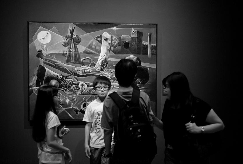 Kid not looking at Red Morning Glory & Rotten Gun by Pratuang Emjaroen