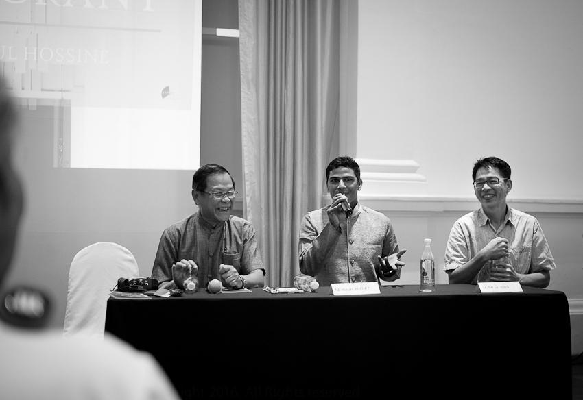 Hoe Fang, Md Mukul, Dr Tan Lai Yong