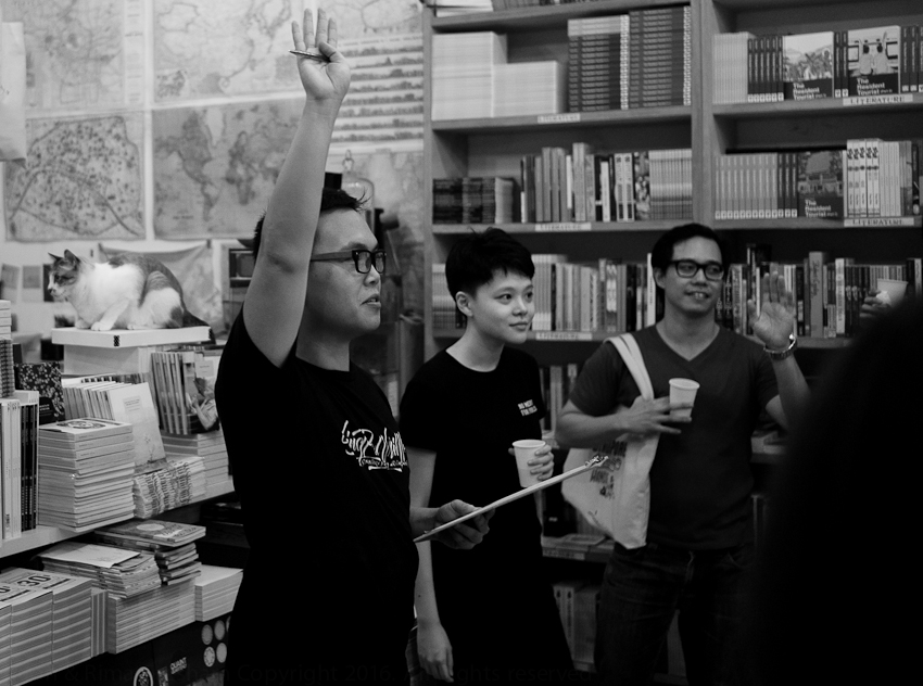 Joshua Ip, SingPoWriMo 2016 closing party
