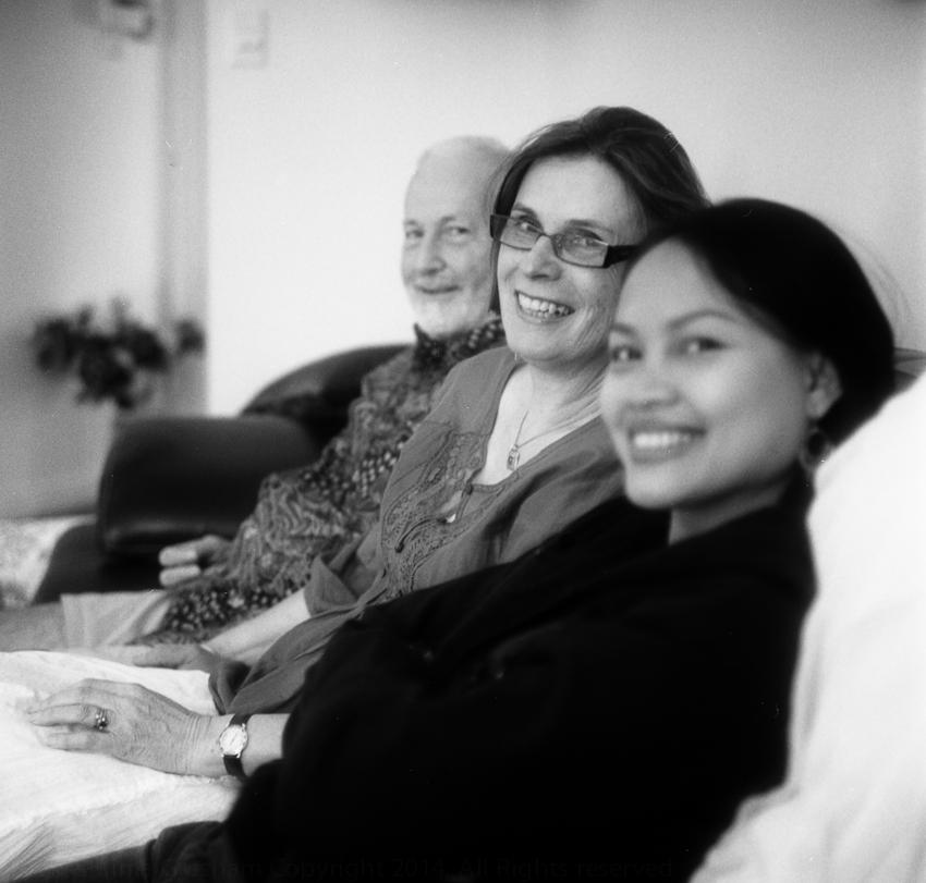 Dad, Mum & Rima, Adelaide, December 2009