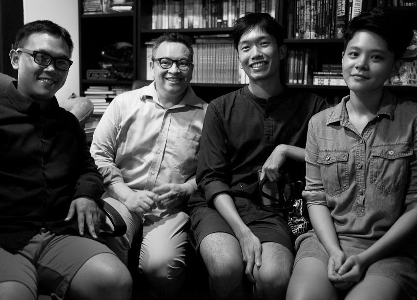Sing Lit Station - Joshua Ip, Jon Gresham, Daryl Qilin Yam &Ruth Tang